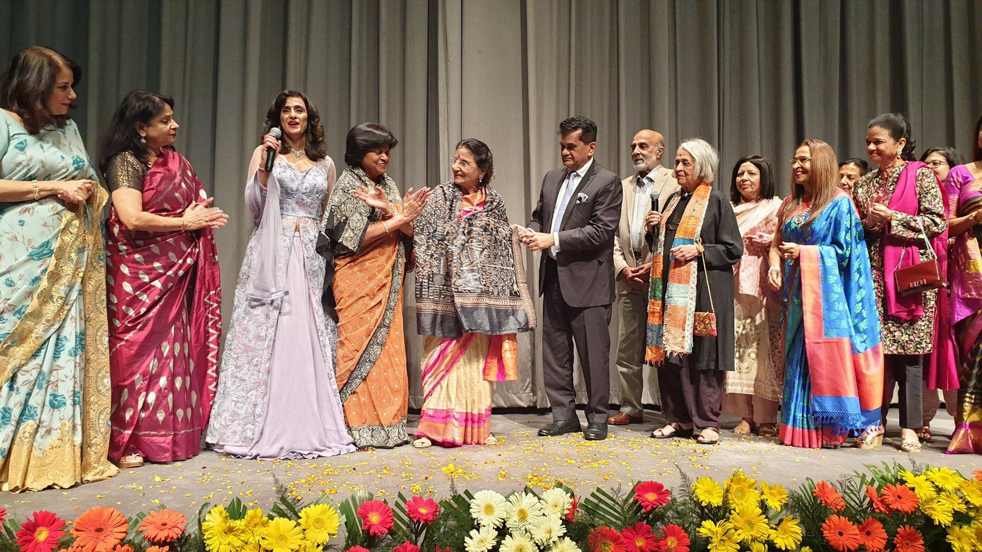 "Presented ""35 years of Divya Chaya Trust"""